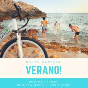 horario verano tao bike