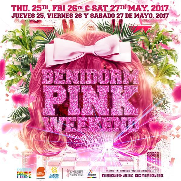 Benidorm Pink Weekend