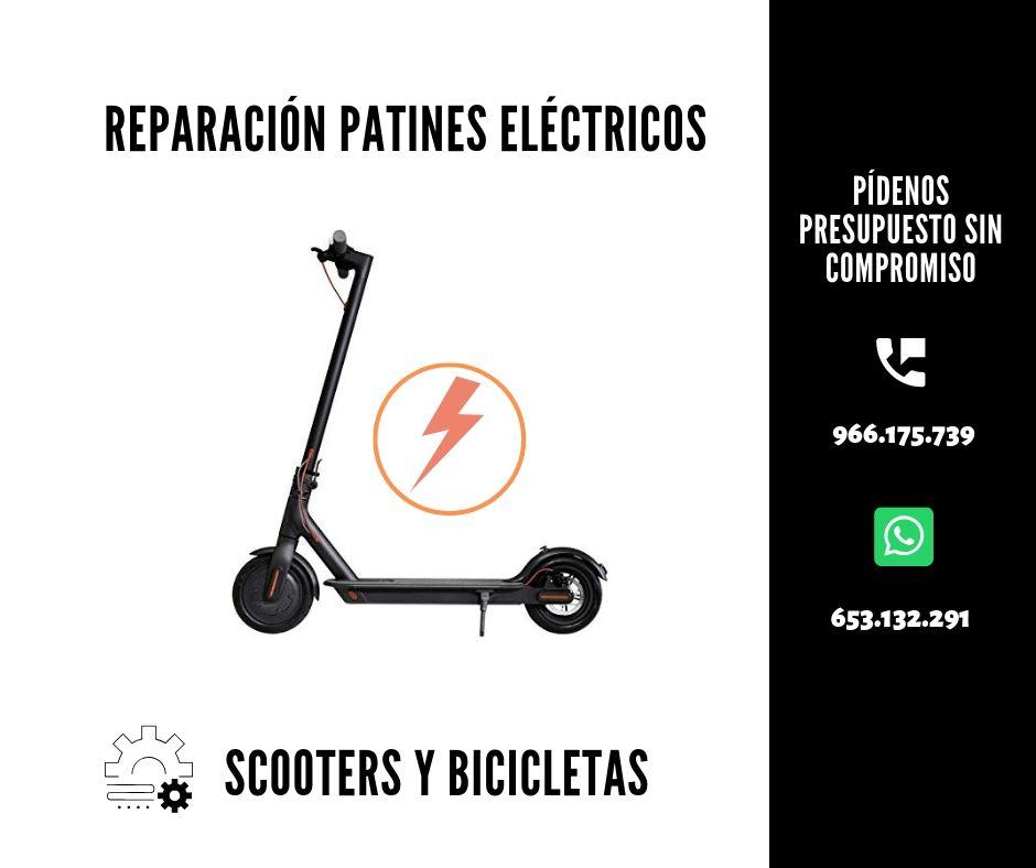 reparacion patinete electrico Benidorm